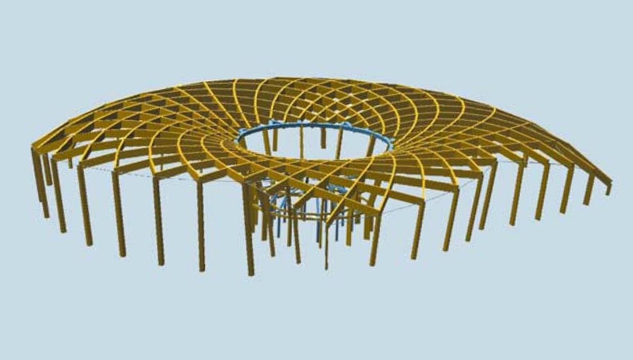 The eden project d bois for Structure de bois