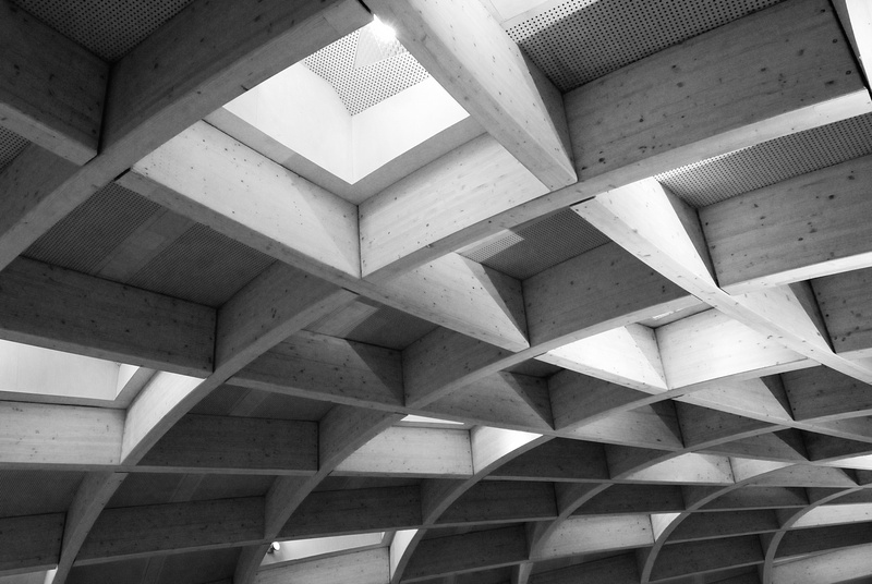 Eden project - Bodelva (GB) - vue intérieure